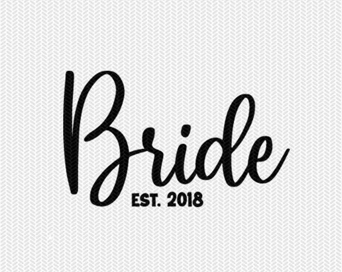 bride wedding marriage svg dxf file instant download silhouette cameo cricut clip art commercial use cricut download