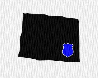 colorado police svg dxf file stencil instant download silhouette cameo cricut downloads clip art police state svg dxf file