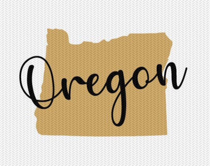 oregon state svg dxf file instant download silhouette cameo cricut downloads clip art commercial use