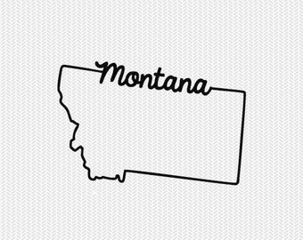 montana svg dxf file instant download stencil silhouette cameo cricut downloads cut file downloads clip art commercial use