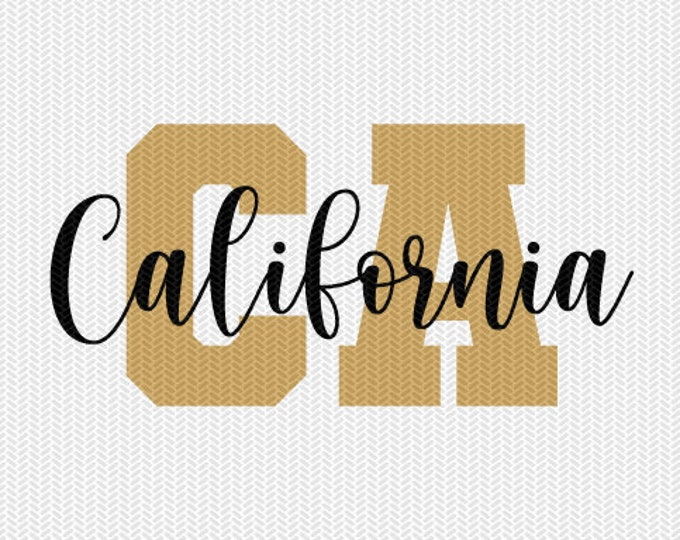 california state svg dxf file instant download silhouette cameo cricut downloads clip art commercial use