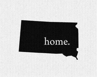 south dakota home svg dxf file stencil instant download silhouette cameo cricut downloads clip art home state svg dxf filepennsylvania