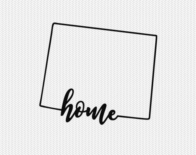 wyoming home svg dxf file instant download stencil silhouette cameo cricut downloads cut file downloads clip art commercial use