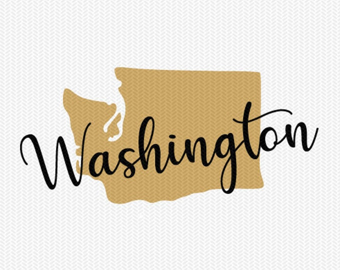 washington state svg dxf file instant download silhouette cameo cricut downloads clip art commercial use