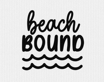 beach bound svg dxf file stencil silhouette cameo cricut commercial use cricut downloads