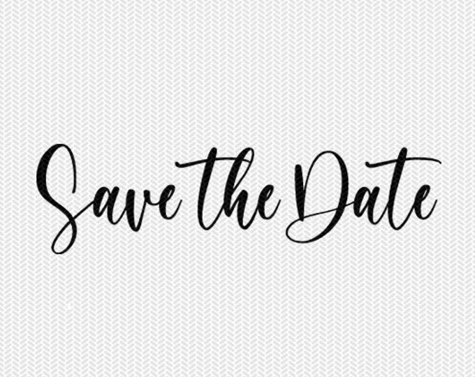 save the date overlay wedding marriage svg dxf file instant download silhouette cameo cricut clip art commercial use cricut download