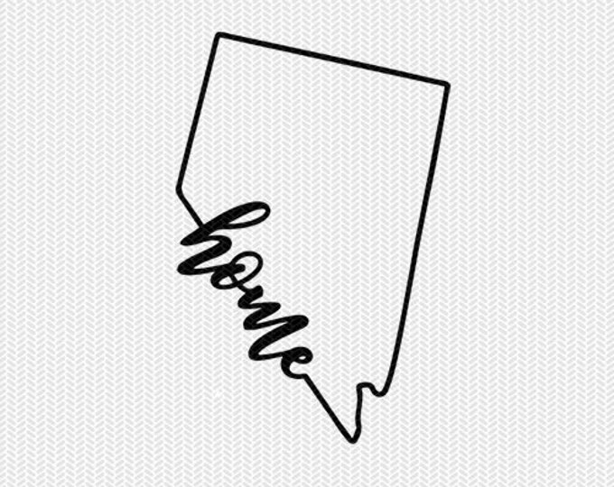 nevada home svg dxf file instant download stencil silhouette cameo cricut downloads cut file downloads clip art commercial use