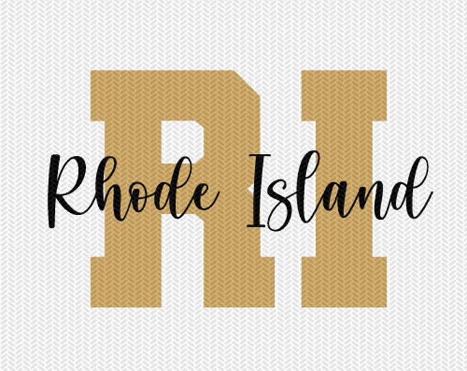 rhode island state svg dxf file instant download silhouette cameo cricut downloads clip art commercial use