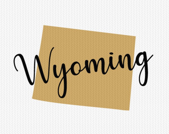 wyoming state svg dxf file instant download silhouette cameo cricut downloads clip art commercial use