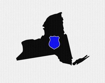new york police svg dxf file stencil instant download silhouette cameo cricut downloads clip art state svg dxf file