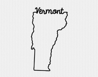 vermont svg dxf file instant download stencil silhouette cameo cricut downloads cut file downloads clip art commercial use