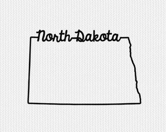 north dakota svg dxf file instant download stencil silhouette cameo cricut downloads cut file downloads clip art commercial use