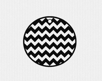 chevron circle tag svg dxf file stencil silhouette cameo cricut clip art commercial use