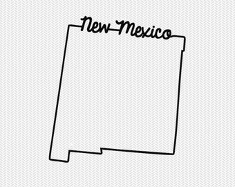 new mexico svg dxf file instant download stencil silhouette cameo cricut downloads cut file downloads clip art commercial use