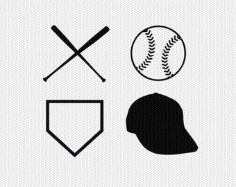 baseball svg dxf jpeg png file instant download stencil silhouette cameo cricut downloads clip art commercial use
