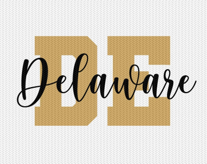 delaware state svg dxf file instant download silhouette cameo cricut downloads clip art commercial use