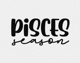 pisces season zodiac astrology svg dxf file instant download silhouette cameo cricut clip art commercial use cricut downloads
