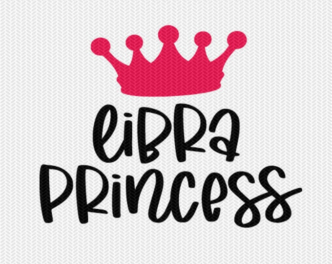 libra princess zodiac astrology svg dxf file instant download silhouette cameo cricut clip art commercial use cricut downloads