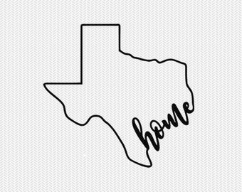 texas home svg dxf file instant download stencil silhouette cameo cricut downloads cut file downloads clip art commercial use