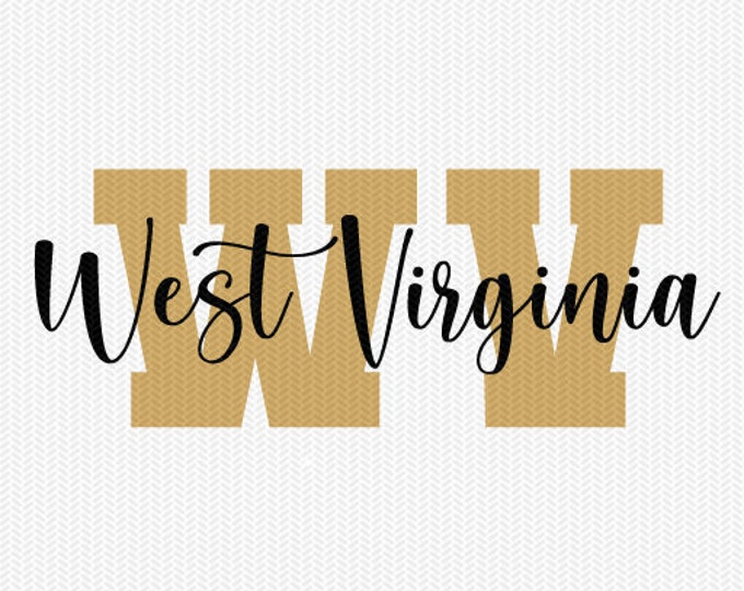 west virginia state svg dxf file instant download silhouette cameo cricut downloads clip art commercial use