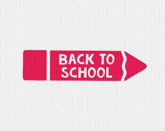 back to school svg dxf file instant download silhouette cameo cricut clip art commercial use
