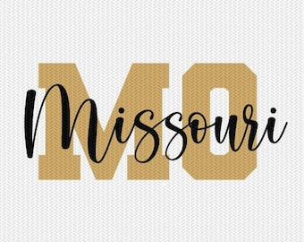 missouri state svg dxf file instant download silhouette cameo cricut downloads clip art commercial use
