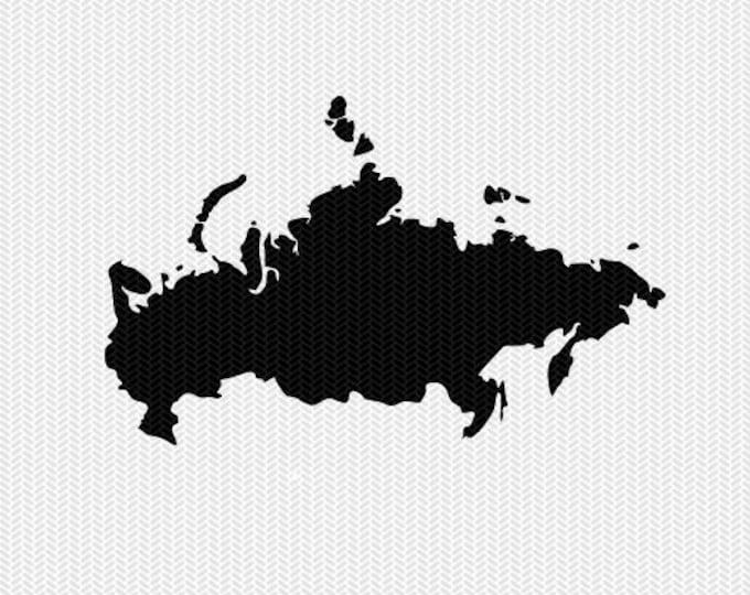 russia svg dxf file stencil monogram frame silhouette cameo cricut download clip art commercial use