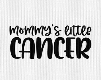 mommy's little cancer zodiac astrology svg dxf file instant download silhouette cameo cricut clip art commercial use cricut downloads