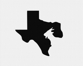 texas goat svg dxf file stencil instant download silhouette cameo cricut downloads clip art animals goat state svg dxf file