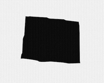 colorado svg dxf cut file stencil monogram frame silhouette cameo cricut download clip art commercial use