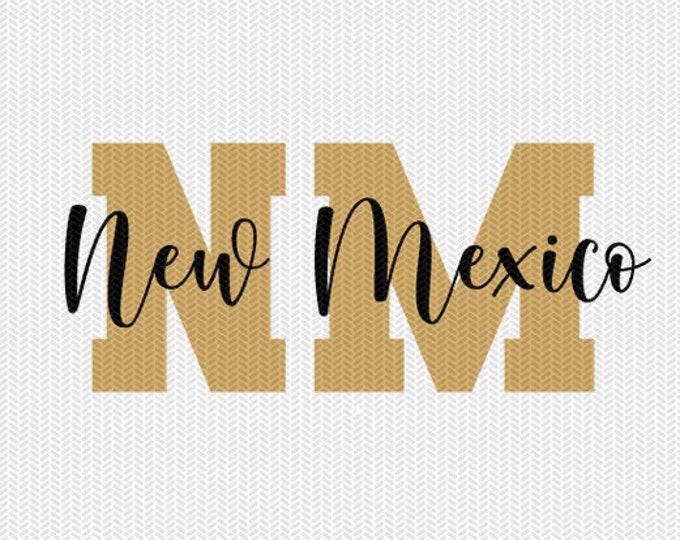 new mexico state svg dxf file instant download silhouette cameo cricut downloads clip art commercial use