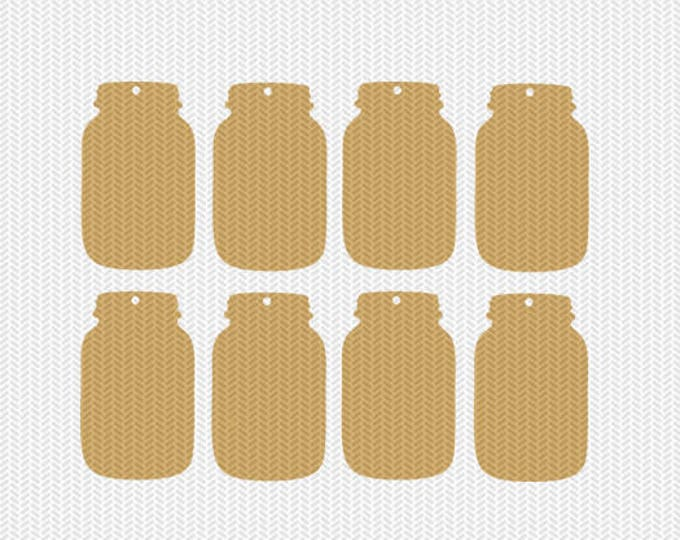 mason jar tags gift tags svg dxf jpeg png file stencil monogram frame silhouette cameo cricut download clip art commercial use
