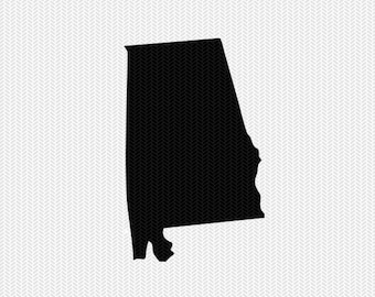 alabama svg dxf cut file stenciL silhouette cameo cricut download clip art commercial use