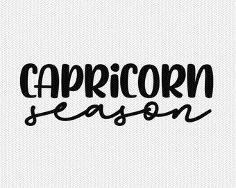 capricorn season zodiac astrology svg dxf file instant download silhouette cameo cricut clip art commercial use cricut downloads