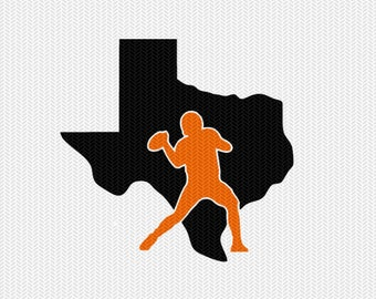 texas football svg dxf file stencil instant download silhouette cameo cricut downloads clip art sports state cut file