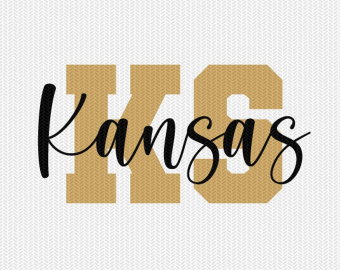 kansas state svg dxf file instant download silhouette cameo cricut downloads clip art commercial use