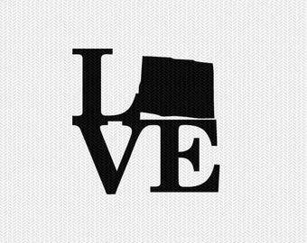 colorado love svg dxf file stencil monogram frame silhouette cameo cricut download clip art commercial use