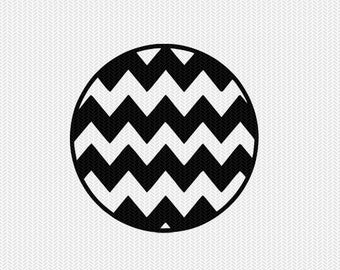 chevron circle dxf jpeg png file instant download stencil silhouette cameo cricut clip art commercial use