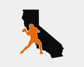 california football svg dxf file stencil instant download silhouette cameo cricut downloads clip art sports state cut file