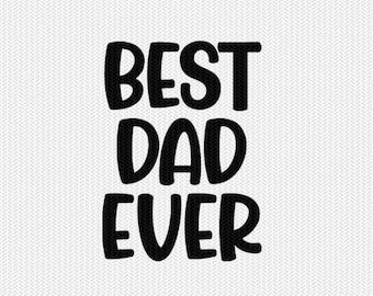 best dad ever clip art svg dxf file instant download silhouette cameo cricut clip art commercial use cricut download