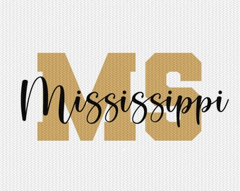 mississippi state svg dxf file instant download silhouette cameo cricut downloads clip art commercial use