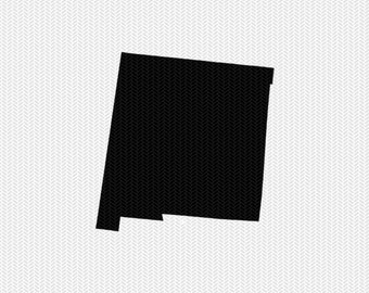 new mexico svg dxf cut file stencil state silhouette cameo cricut downloads clip art commercial use