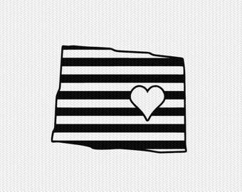 colorado stripes heart svg dxf file download stencil silhouette cameo cricut downloads cut file downloads clip art commercial use