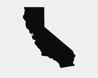 california svg dxf cut file stencil monogram frame silhouette cameo cricut download clip art commercial use