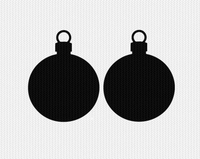 ornament svg gift tags cricut download svg dxf file stencil silhouette cameo cricut clip art commercial use
