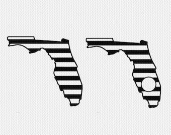 florida stripes monogram svg dxf file download stencil silhouette cameo cricut downloads cut file downloads clip art commercial use