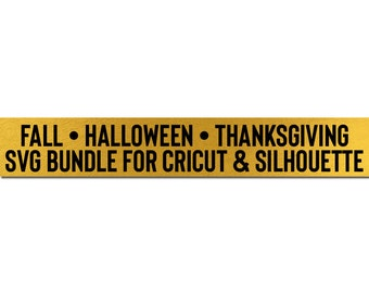 fall - halloween - thanksgiving svg bundle cricut downloads //  svg dxf silhouette cameo cricut downloads clip art commercial use