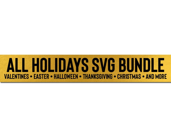 holidays svg bundle cricut downloads // svg dxf silhouette cameo cricut downloads clip art commercial use