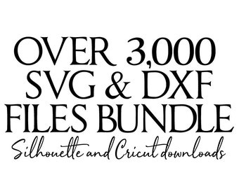 svg files bundle // all files in my shop // svg dxf file instant download silhouette cameo cricut downloads clip art commercial use