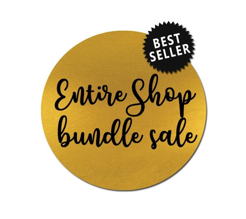 entire shop sale // svg dxf file instant download silhouette image 0